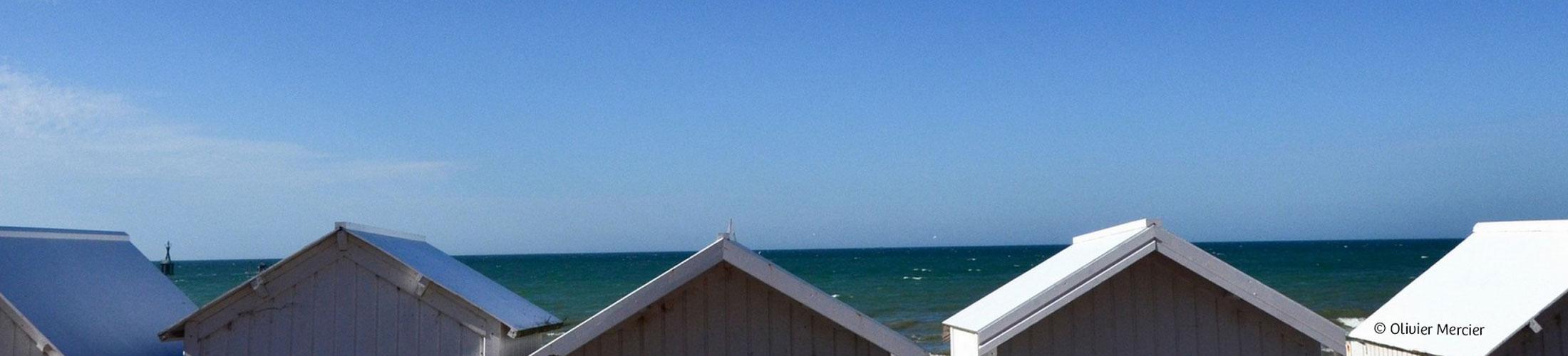 Le site internet de la mairie de Courseulles-sur-mer, séduit tous les visiteurs.  L'agence a su réaliser en respectant la charte graphique du 1
