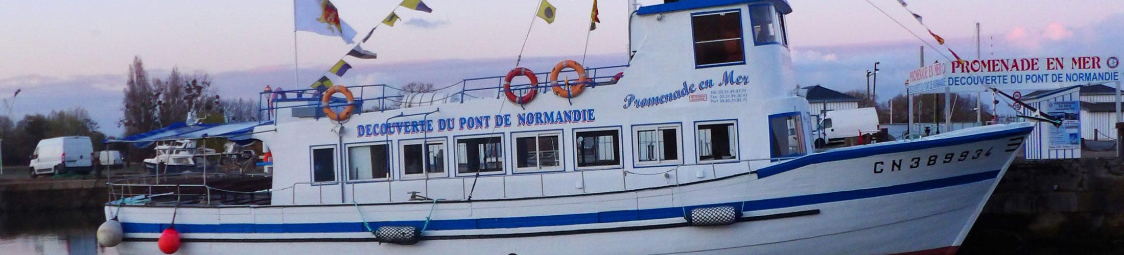 Les Promenades en bateau à Honfleur, nous ont confié il y a quelques année la refonte de leur site internet et d'une application Mobile à l'époque. Depuis 1