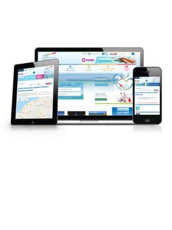 L'aéroport de Deauville Normandie a lancé une consultation dans les journaux officiels pour l'élaboration de leur site internet. Le nombre d'offres reçues 1