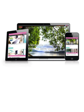Quelques dernières réalisations de l'agence Krea3 Nos dernières réalisations de création de sites internet         Vous 1