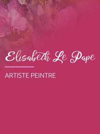 C'est avec une touche d'art graphique que l'agence Krea3 a réalisé un site à l'artiste peintre Elisabeth Le Pape, Artiste en Normandie.  C'est dans son 1