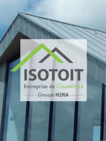 La société Isotoit fait partie du Groupe pour lequel l'agencea réalisé le .  Krea3 a réalisé le nouveau site de en respectant la  du 1