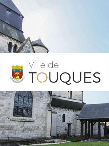 Ville de Touques L'agence Krea3 a su délivrer dans un timing très serré , un site pratique, utile, Responsive à la Ville de Touques dans le Calvados. Une 1
