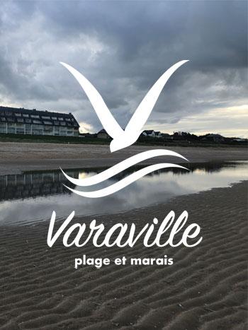 """""""Nouveau site internet et nouveau logo pour Varaville  En ce jour de l'été, la commune de Varaville est ravie de vous présenter son nouveau site 1"""